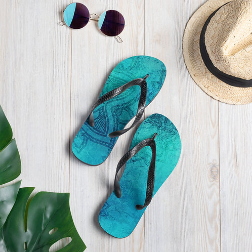 Mandalla Namaste Riki Beach Shoes Flip-Flops