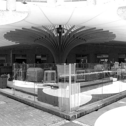 Kiosco Escultórico La Karpa