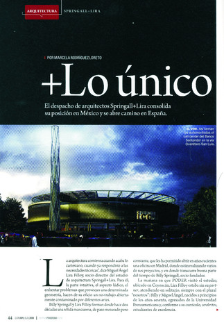Power and Business Magazine | México | 2009