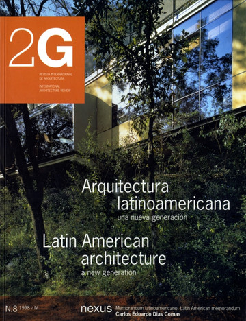 2G No.8 / International Architecture Magazine  | España | 1998 | Editorial Gustavo Gili