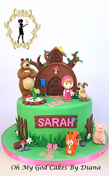 Oh My God Cakes By Diana CAKE GALLERY