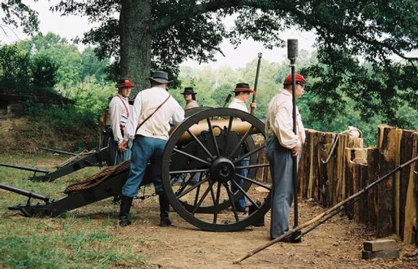 Civil War Reenactments at Tunnel Hill, Georgia