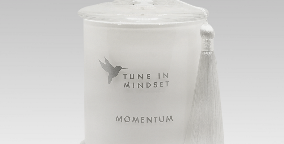 Natural wax candle MOMENTUM