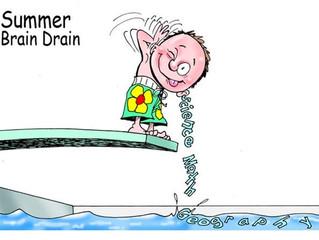 ¿Qué es la fuga de cerebro en el verano? ¿Cómo afecta a nuestros hijos y cómo podemos evitarlo?
