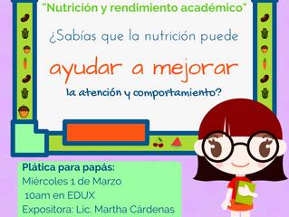 Nutrición y Aprendizaje en los Niños
