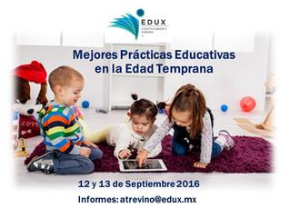 Taller Mejores Prácticas Educativas en la Educación Temprana