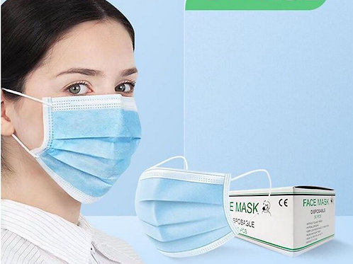 50 x Premium Quality Face Mouth & Nose Protection Masks FFP2 CE