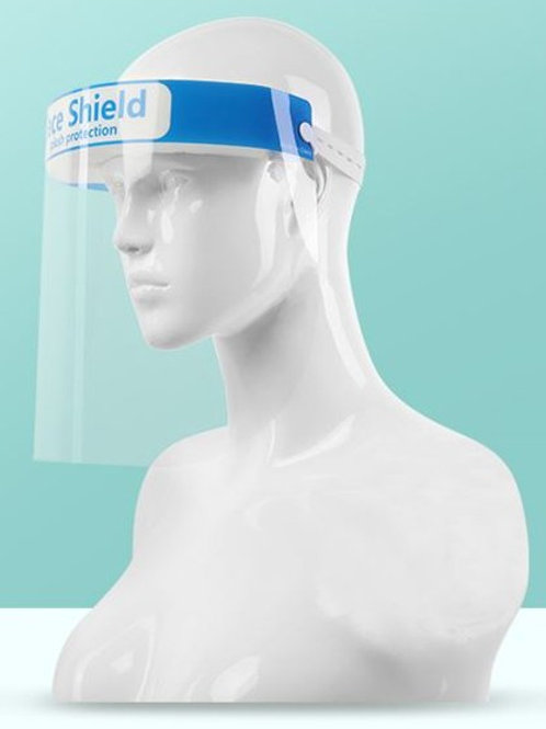 100 x Premium Quality Safety Face Shield