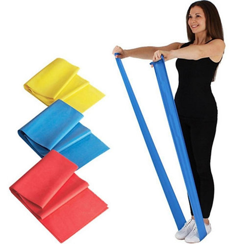 FitKit Resistance Band - 2M - Pilates - Strength Training - Yoga Stret