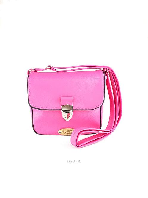 "mini sac à main ""arc en ciel"" rose"