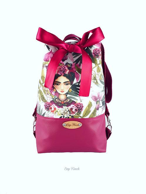 """Mini sac seau, sac à dos """"Frida"""""""