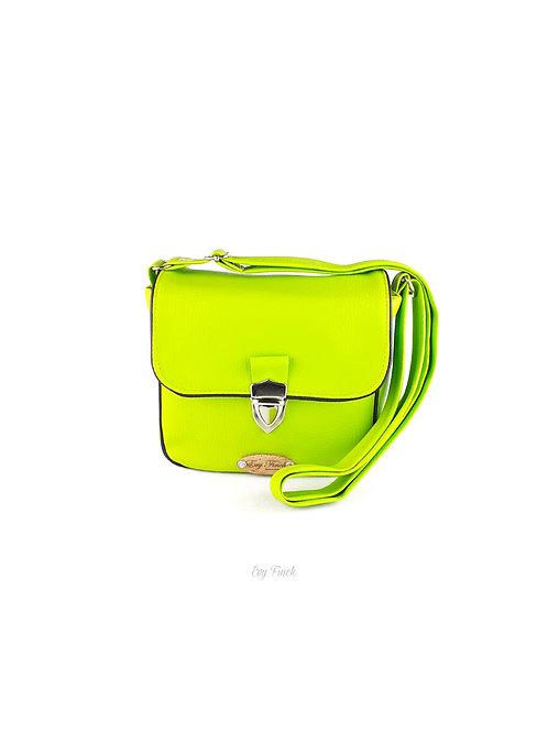 """mini sac à main """"arc en ciel"""" vert"""