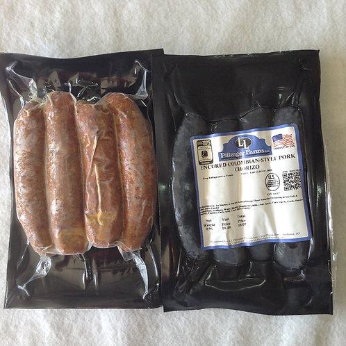 Sausage - Chorizo - Columbian Style - Nitrate Free