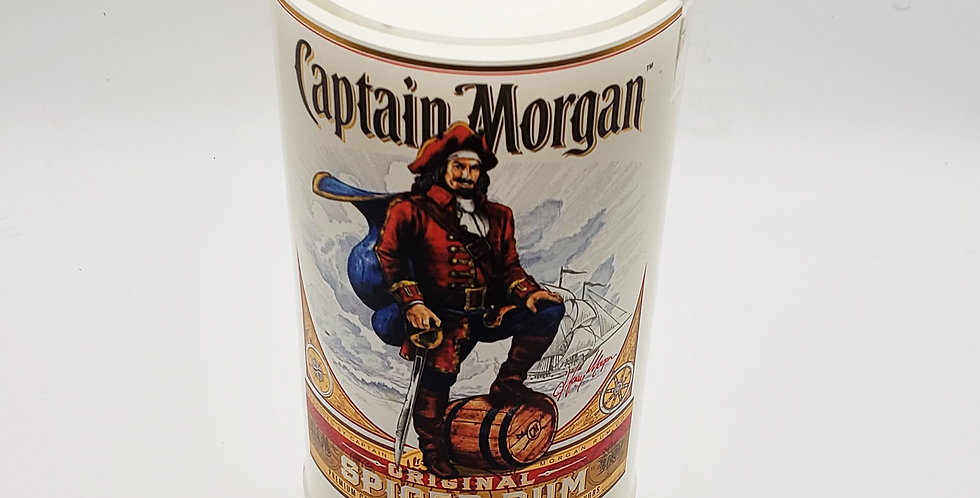 Captain Morgan Rum Soy Candle - 60+ Hour Long Burn Time