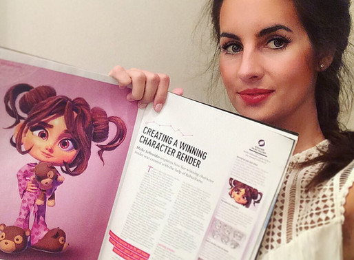 Little Mary featured in 3d World Magazine