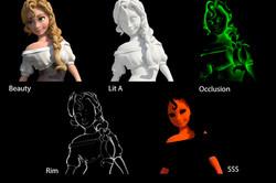 "BREAKDOWN 3D CHARACTER ""MARIE"""