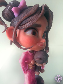 """3D PRINT CHARACTER """"LITTLE MARY"""""""