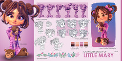 """CHARACTER DESIGN """"LITTLE MARY"""""""