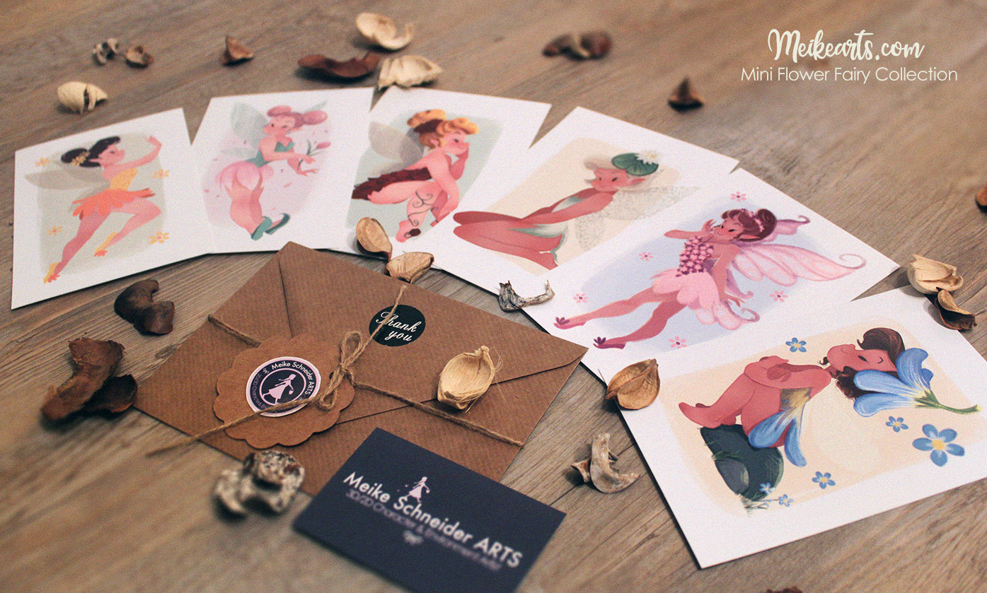 FAIRY COLLECTION ART PRINTS