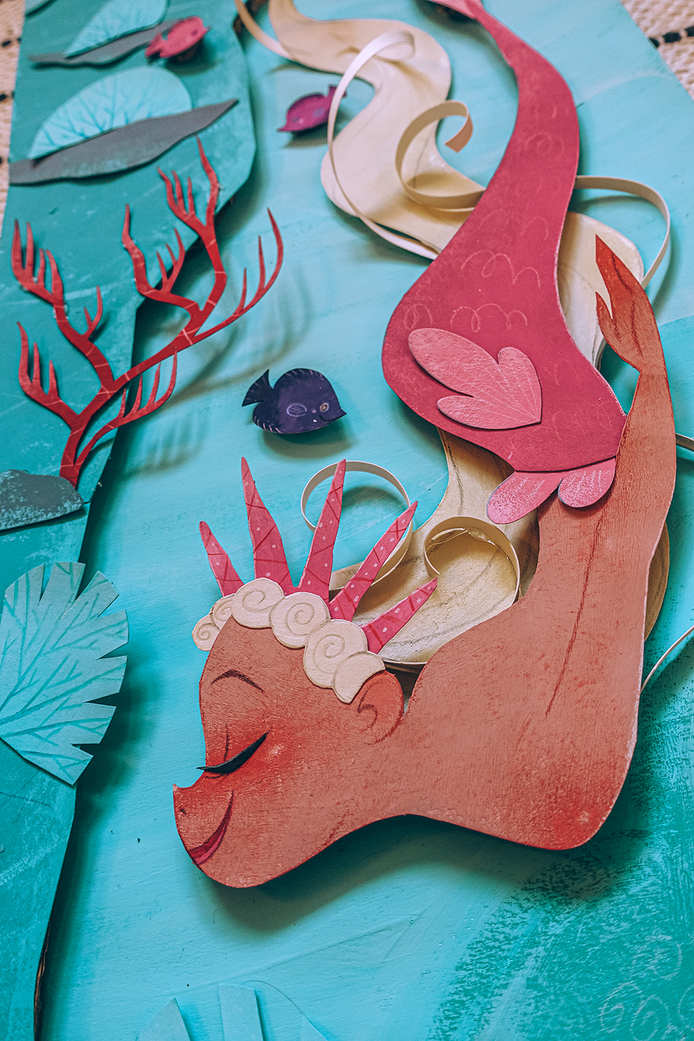 MERMAID PAPER-CUT