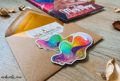 Rainbow Mermaid Stickers