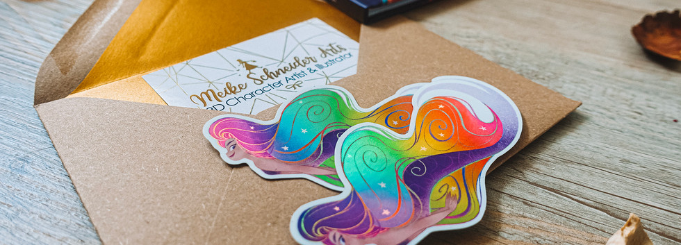Rainbow Mermaid Stickers