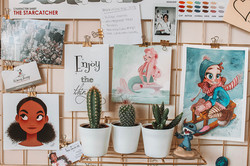 My inspiration wall