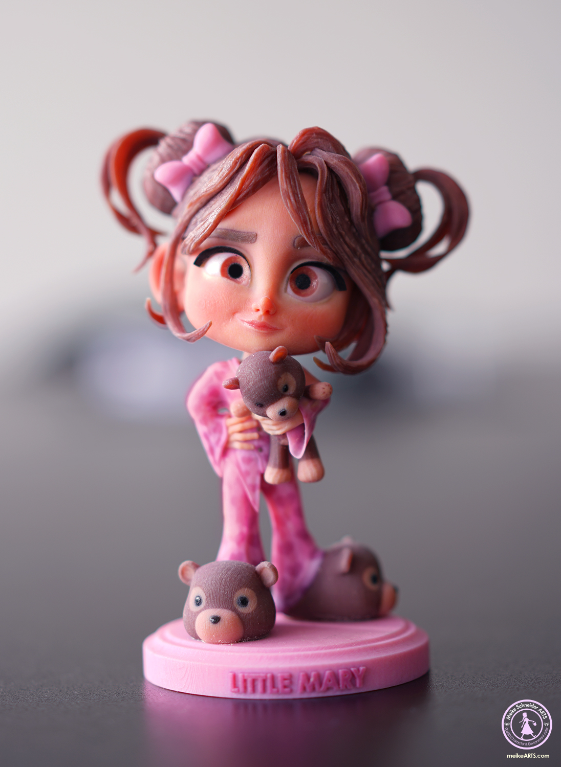 "3D PRINT CHARACTER ""LITTLE MARY"""