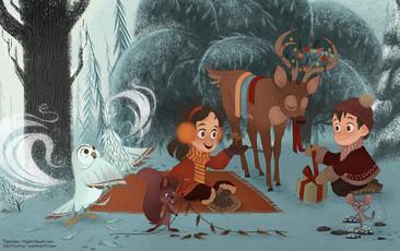 MY BEST BOOK Children's Book Illustration