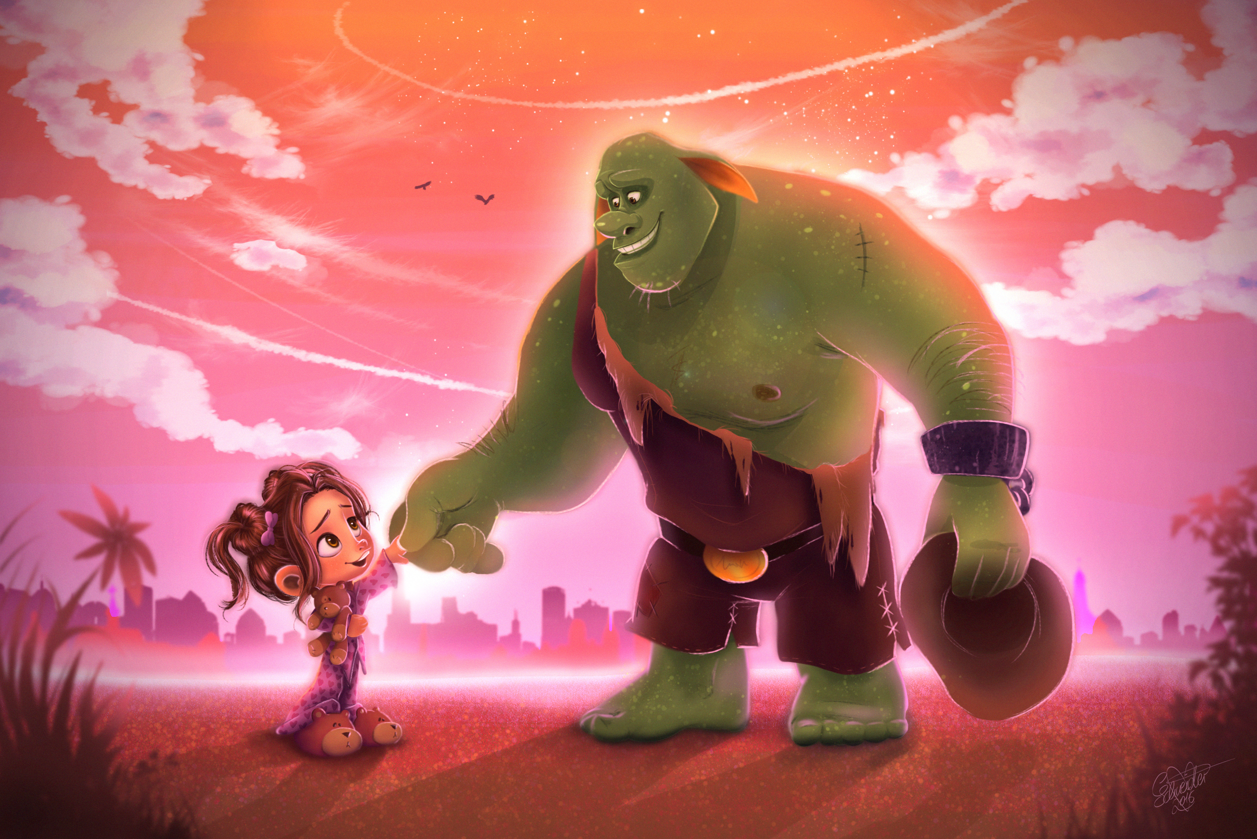 LITTLE MARY & THE OGRE