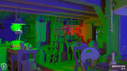 3D WITCH HOUSE BREAKDOWN
