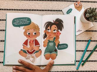 Finni & Fredo - Was kann mein Körper? Cildren's Book Illustration