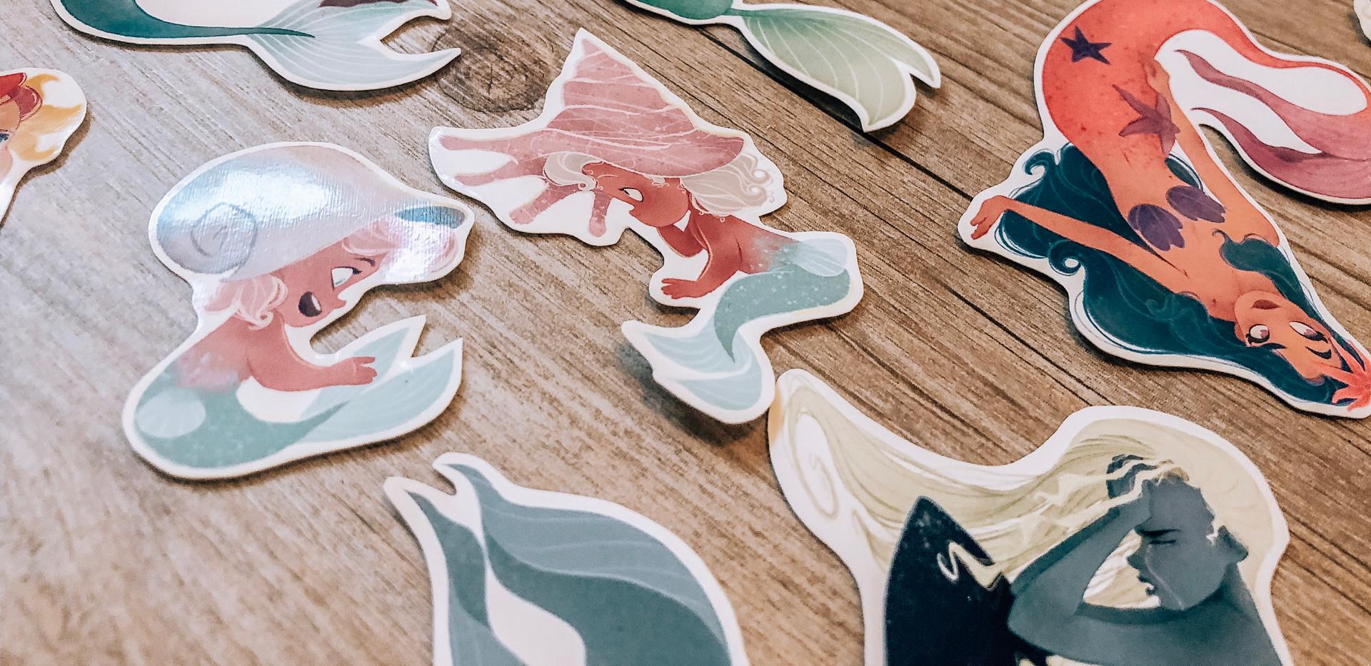 Mermaid Sticker Sets