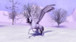 3D PEGASUS HORSE