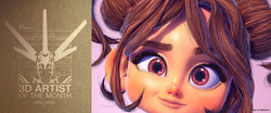 """3D CHARACTER """"LITTLE MARY"""""""