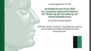 Humboldt Alumni Prize Award for Innovative Network Initiative