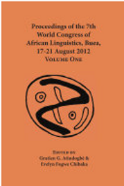 Proceedings of the 7th world congress of African Linguistics, Buea, 17-21 August