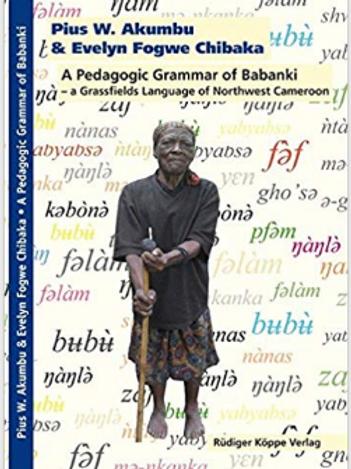 A Pedagogic Grammar of Babanki.