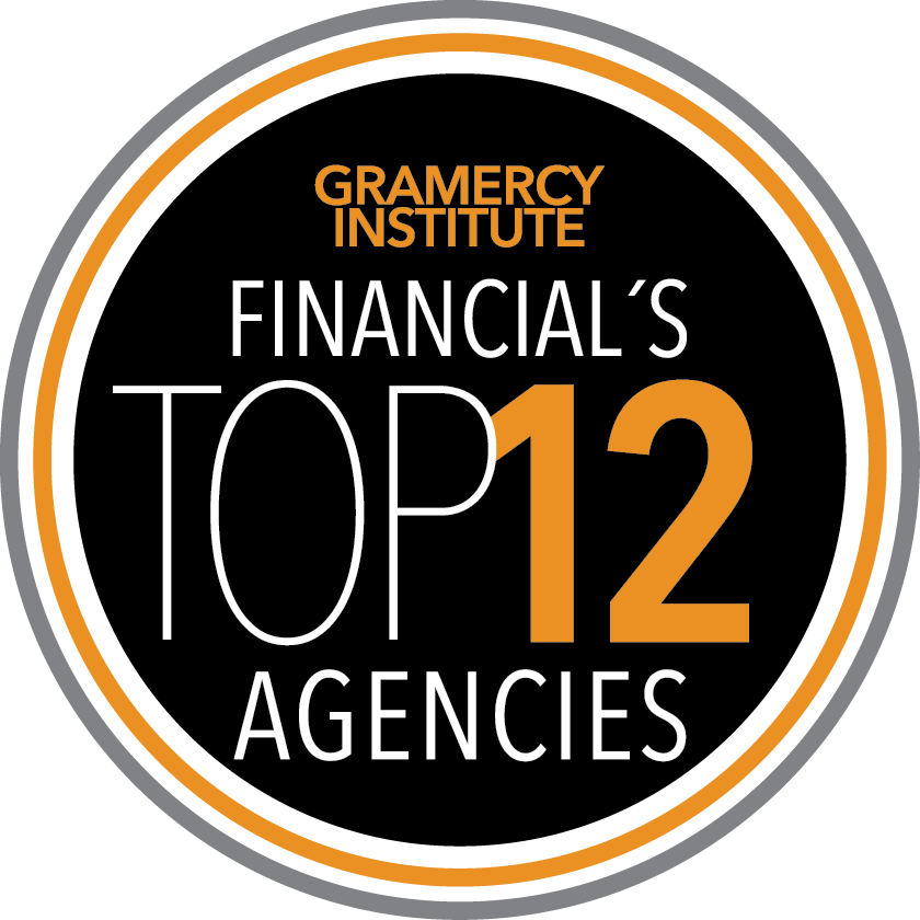 MERGE | 2019 TOP 12 AGENCIES | Financial Services | Gramercy Institute