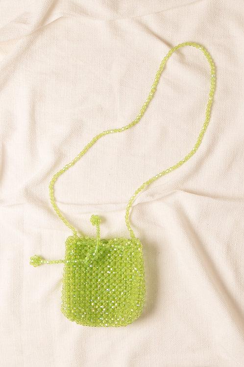 Bolsa de Cristal Verde