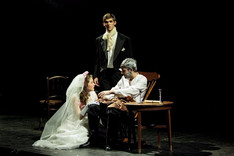 Ellie, Sam and Ben in Les Miserables