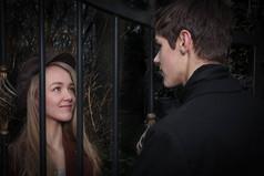 Hannah Lawson and Sam Jones in Les Miserables
