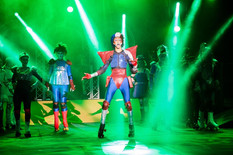 Joe Griffiths-Brown in Starlight Express