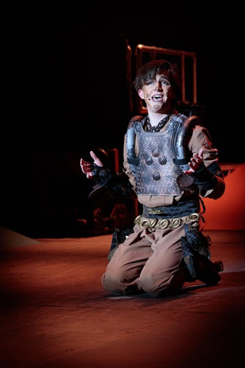 Sam Ashall in Starlight Express