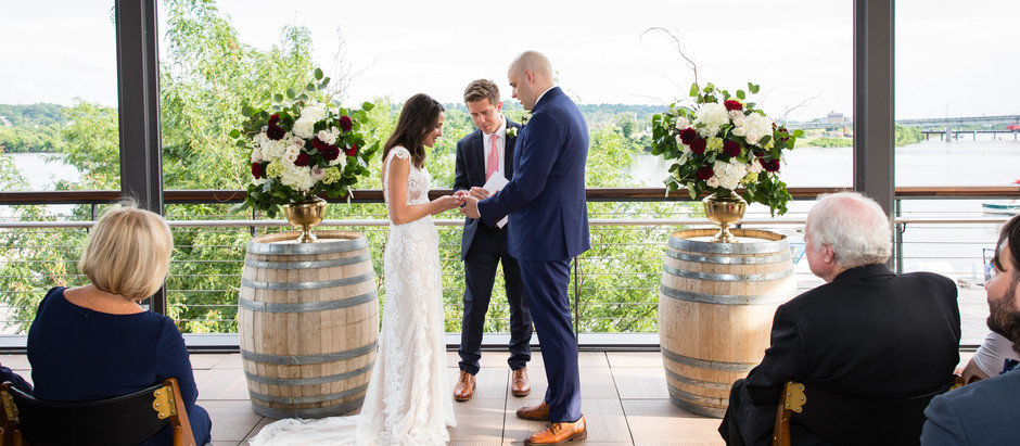 A Modern May Wedding: The Stunning Celebration of Claudia and Ben