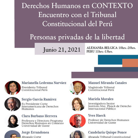 Ius Commune in CONTEXT and Persons Deprived of Liberty