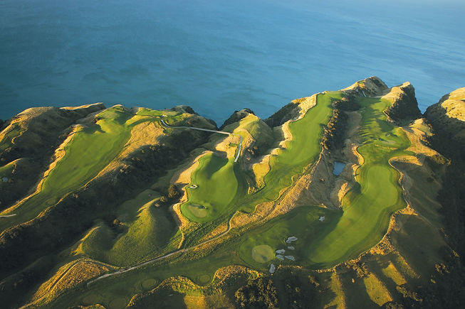 New Zealand - cape kidnappers aerial sho