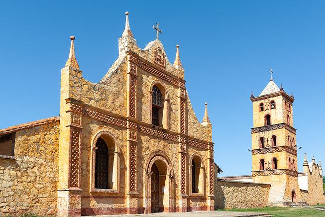 Jesuit Mission church in San Jose de Chi