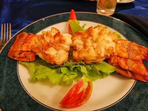 Grilled Lobster in a Restaurant (Paladar