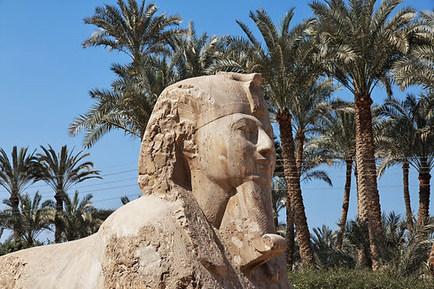Memphis is the ancient capital of Egypt.